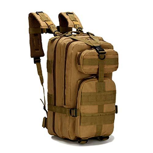 Jipemtra Bolsa táctica de primeros auxilios MOLLE EMT IFAK mochila militar de emergencia, Bronceado 30L
