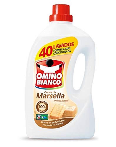 Omino Bianco - Detergente liquido Cuore de Marsella - 2000 ml