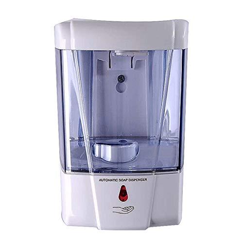 Dispensador De Jabón De Marsella, Montado En La Pared Sensor Inteligente Resistente Al Agua Y El Medio Ambiente Higiene Y Conveniente Material ABS Lavadora Mano Blanca