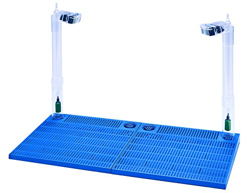 Penn-Plax Premium Unterkies-Filtersystem – für Aquarien und Aquarien mit 22,7-22,5 l, Blau (CFU55)