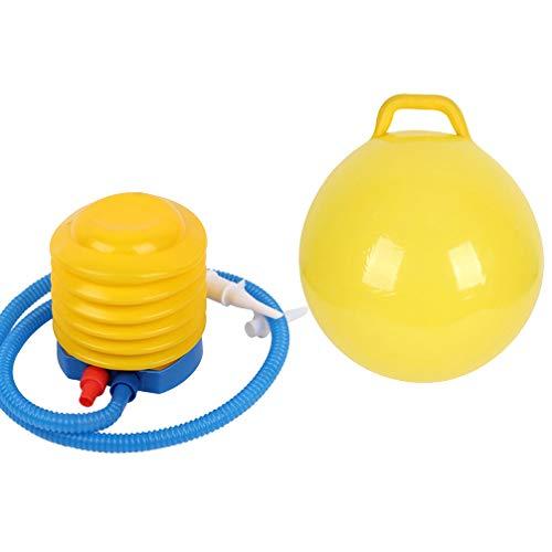 CLISPEED Hopper Ball Jumping Hopping Hippity Hop Ball für Kinder Jumping Ball Sitzen Sprung 44Cm