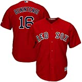 OuterStuff Andrew Benintendi Boston Red Sox Youth 8-20 Red Alternate Official Player Name & Number Jersey (Youth Medium 10-12)