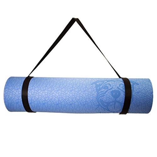 KoaYoga - Esterilla de yoga, color azul