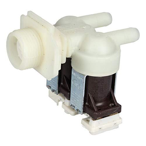 EUROPART 10038527 Magnetventil Überlaufschutz Wasserzulaufventil Ventil zweifach Waschmaschine passend wie Bosch Balay Constructa 00428210 auch passend für Neckermann Viva Quelle Pitsos Merker Lynx