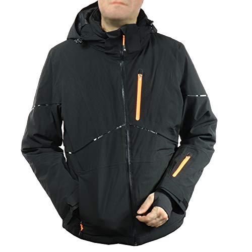 Icepeak dames outdoor en ski-jack functionele jas met Recco Naarva 253091528L (zwart, 38)