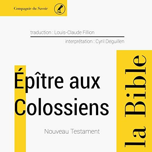 Couverture de Épître aux Colossiens