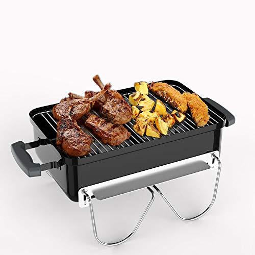 HECHEN Barbecue au Charbon de Bois - poêle à Pique-Nique Portable à la Maison - Barbecue Pliant Grill Complet