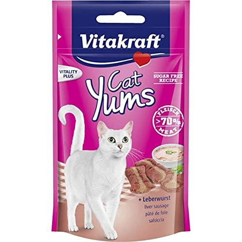 Vitakraft Cat YUMS au Pâté De Foie pour Chat 40g (Lot de 3)