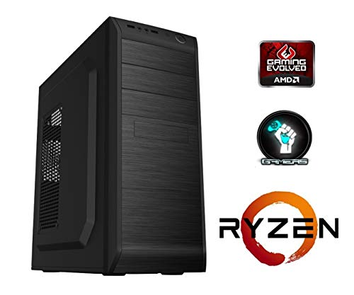 PC Torre Ordenador SOBREMESA AMD RYZEN 3 1200 up 3.46Ghz Turbo ...