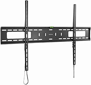 VIVO Extra Large Heavy Duty 60 to 100 inch LCD LED Curved and Flat Panel Screen, TV Wall Mount Bracket with Max 900x600mm VESA, Black, MOUNT-VW100F