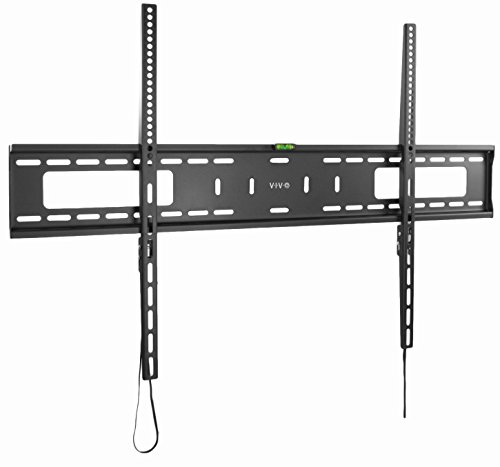 VIVO Black Extra Large Heavy Duty 60 to 100 inch LCD LED Curved and Flat Panel Screen | TV Wall Mount Bracket with Max 900x600mm VESA (MOUNT-VW100F)