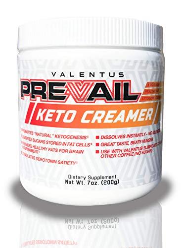 Valentus Prevail Keto Coffee Creamer, Mct Oil Powder 7 Oz - 20 Servings