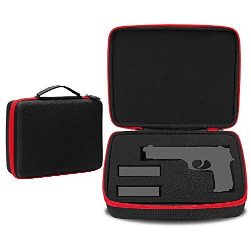 Risou Hard Travel Case Compatible with Pistol Handgun...
