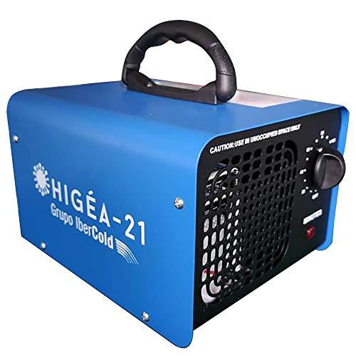 KEYPRO Higea 10G: Generador de Ozono Portátil, Purificador de Aire,10.000 MG/H-hasta 400㎡. Máquina de Ozono para Coche, Hogar, Oficina y Mascota, Purifica y Elimina Olores/Contaminantes