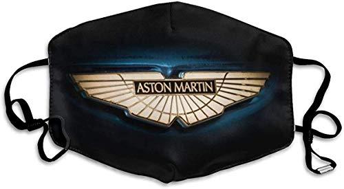 FlonzGift Bandana para adultos con logo de Aston Martin reutilizable y lavable, antipolvo, para deportes y al aire libre