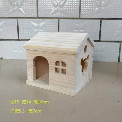 Willlly Hedgehog house Winterkwartier Hamster voerstation Hedgehog hut Hamsters Buitenspeelgoed Totoro Klein huis