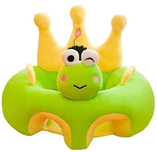 Baby-Sofa-Unterstützung, Sitzlernen, Fütterungsstuhl, Wiege, niedlich, Cartoon-Tiere, gefüllt, Sitzstuhl, Plüschspielzeug, Puppensitz für Babys und Kleinkinder