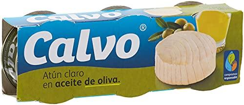 Calvo - Atun Claro en aceite de oliva - 3 x 80 g