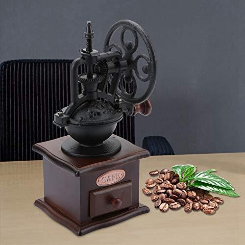Sevenyou Kaffeemühle, praktische manuelle Kaffeemühle, einfach Retro für Aeropress, Filterkaffee, Espresso