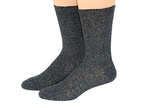Shimasocks Herren Socken ohne Gummi Diabetiker geeignet, Farben alle:schwarz, Größe:43/46