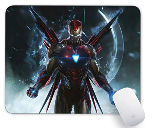 Mouse Pad Iron Man Gaming Funny Customized Cute Rubber Mousepad Laptop MouseMat for Desk