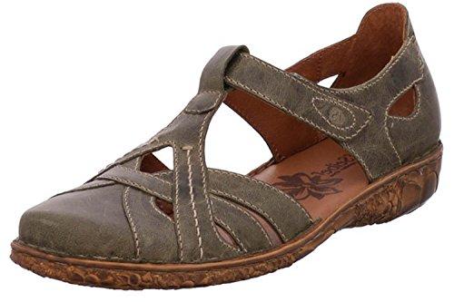 Josef Seibel Rosalie 29 Sandalen in Übergrößen Khaki 79529 95 630 große Damenschuhe, Größe:44