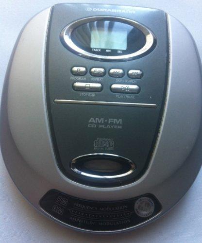 Durabrand #CD-62 AM/FM Radio & CD Player