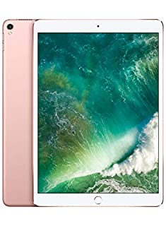 Apple iPad Pro (10.5-inch, Wi-Fi + Cellular, 64GB) - Rose Gold (Previous Model) (B071GGB84Y) | Amazon price tracker / tracking, Amazon price history charts, Amazon price watches, Amazon price drop alerts