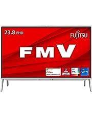 【公式】 富士通 デスクトップパソコン FMV ESPRIMO (MS Office 2019/Win 10/23.8型/Core i7/16GB/SSD 256GB + HDD 2TB/Blu-ray/TV) FHシリーズ AZ_WF1F1_Z676