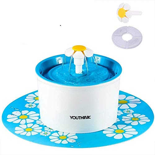 YOUTHINK Cat Fountain, 1.6L Automatic Super Quiet...