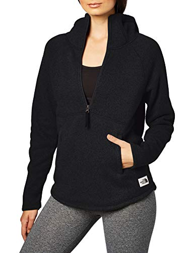 THE NORTH FACE Crescent Hooded Pullover Women Größe XL TNF Black Heather