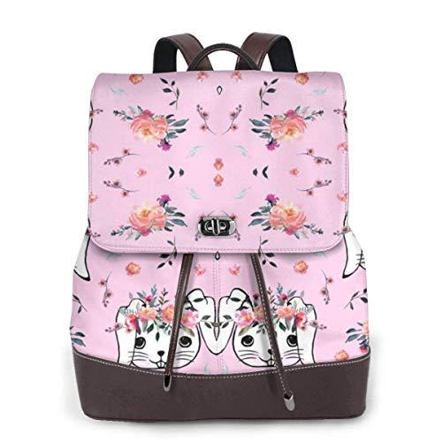Flying Over Clouds Super Cow Women Fashion Genuine Leather Backpack Girls Travel School Mini Shoulder Bag