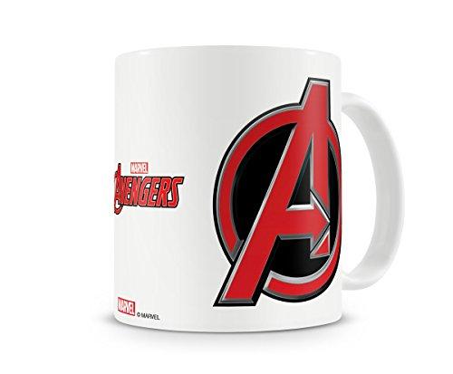 Licenza Ufficiale The Avengers Logo Tazza di caffè, Mug