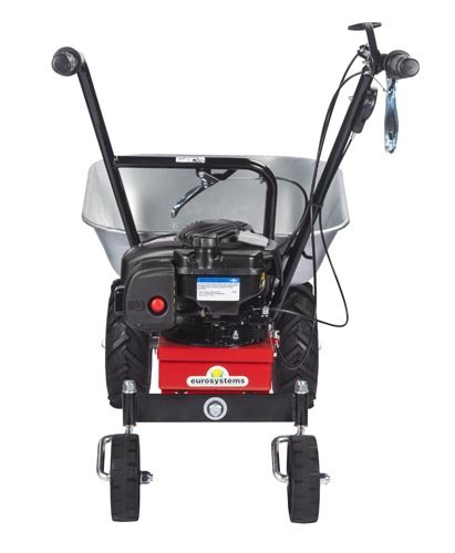 Eurosystems Carry Briggs & Stratton 450 E-Serie Motorschubkarre selbstfahrend, hergestellt in Italien - 4