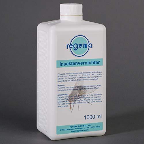 Regema Insektenvernichter, 1er Pack (1 x 1000 ml), 349