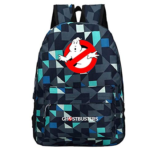Ghostbusters Freizeitrucksack Casual Wilde Rucksack-Schule-Rucksack Fashion Rucksack Reisetasche Daypack Printed Rucksack Unisex (Color : A32, Size : 45 X 31 X 14cm)
