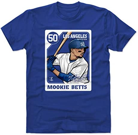 500 LEVEL Mookie Betts Shirt Cotton X Large Royal Blue Los Angeles Men s Apparel Mookie Betts product image