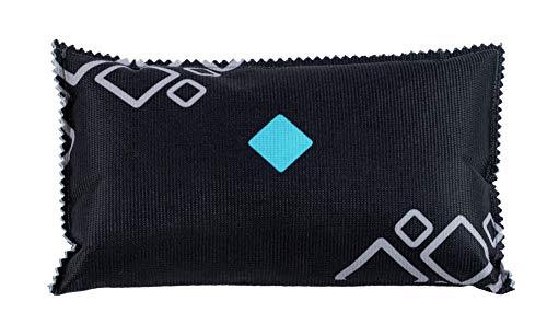 WENKO Auto-Entfeuchter-Kissen mit Sättigungsanzeige bei beschlagenen Autoscheiben XXL 1kg