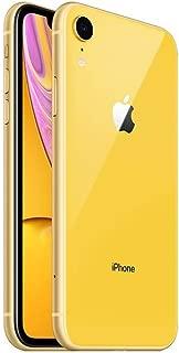 Apple iPhone XR, Fully Unlocked, 128 GB - Yellow (Renewed)