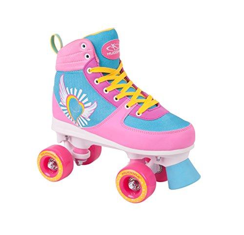HUDORA Rollschuhe Damen Mädchen Skate Wonders, Roller-Skates, Gr. 35-36, 13150