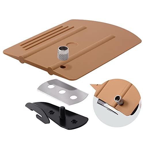 RONGSHU 2in1 Ventana Película de lámina Squeebado Cutter Vinyl Car Wrap Wallpaper Decalas Scraper Utility Knife Auto Cutting Accesorios Herramienta