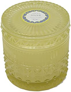 Capri Blue Muse Collection, Faceted Jar Candle - Aloha Orchid