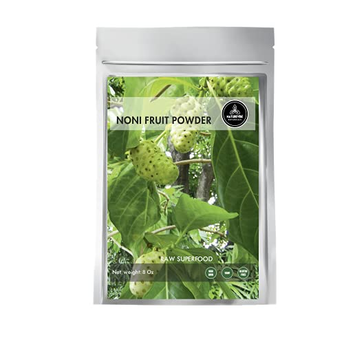Naturevibe Botanicals Noni Fruit Powder (8 Ounces) - Morinda Citrifolia - 100% Pure & Natural