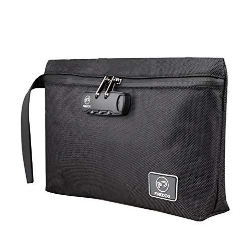 NV Tasche, Aufbewahrungstasche, Gepäck, Deo-Tasche, Geruchssichere Tasche, Reiseaufbewahrungstasche Mit Code-Schloss, Handtasche Für MenTravel-Ausrüstung (schwarz)