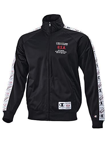 Champion Full Zip Sweatshirt Jacke Herren Trainingsjacke schwarz (schwarz, x_l)