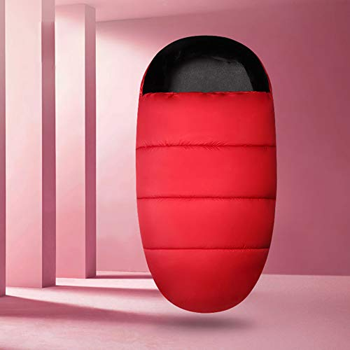 Upgraded Saco de Silla de Paseo Universal Carritos Sacos de Abrigo Invierno Térmica Multifunción Aire Libre Windproof Adecuado para Cochecito Silla de Paseo Sillas de Coche (Rojo)
