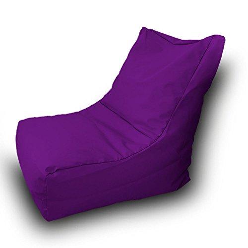 Puff Beanbag Sofá Poliéster Impermeable 85x85cm