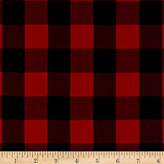 Best buffalo red and black fabric Reviews