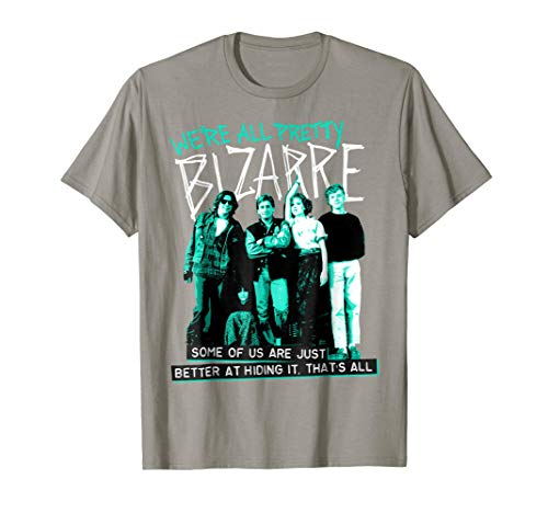 Breakfast Club We're All Pretty Bizarre Graphic T-Shirt, 5 Colors, S to 3XL