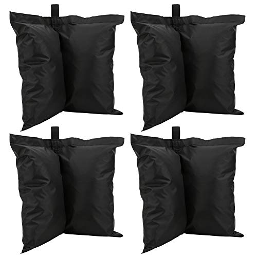 Huairdum Counterweight Bag Outdoor Sunshade Fixed Sandbag, Conveniewnt to Carry, Excellent Material Oxford Cloth Sandbag, Durable Sports Umbrella for Camping Sunshade